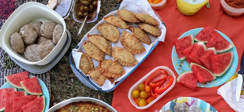 Bild Picknick draussen